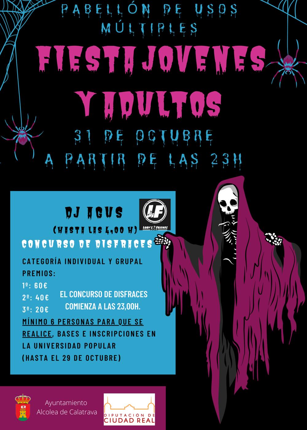 Fiesta Adultos Halloween
