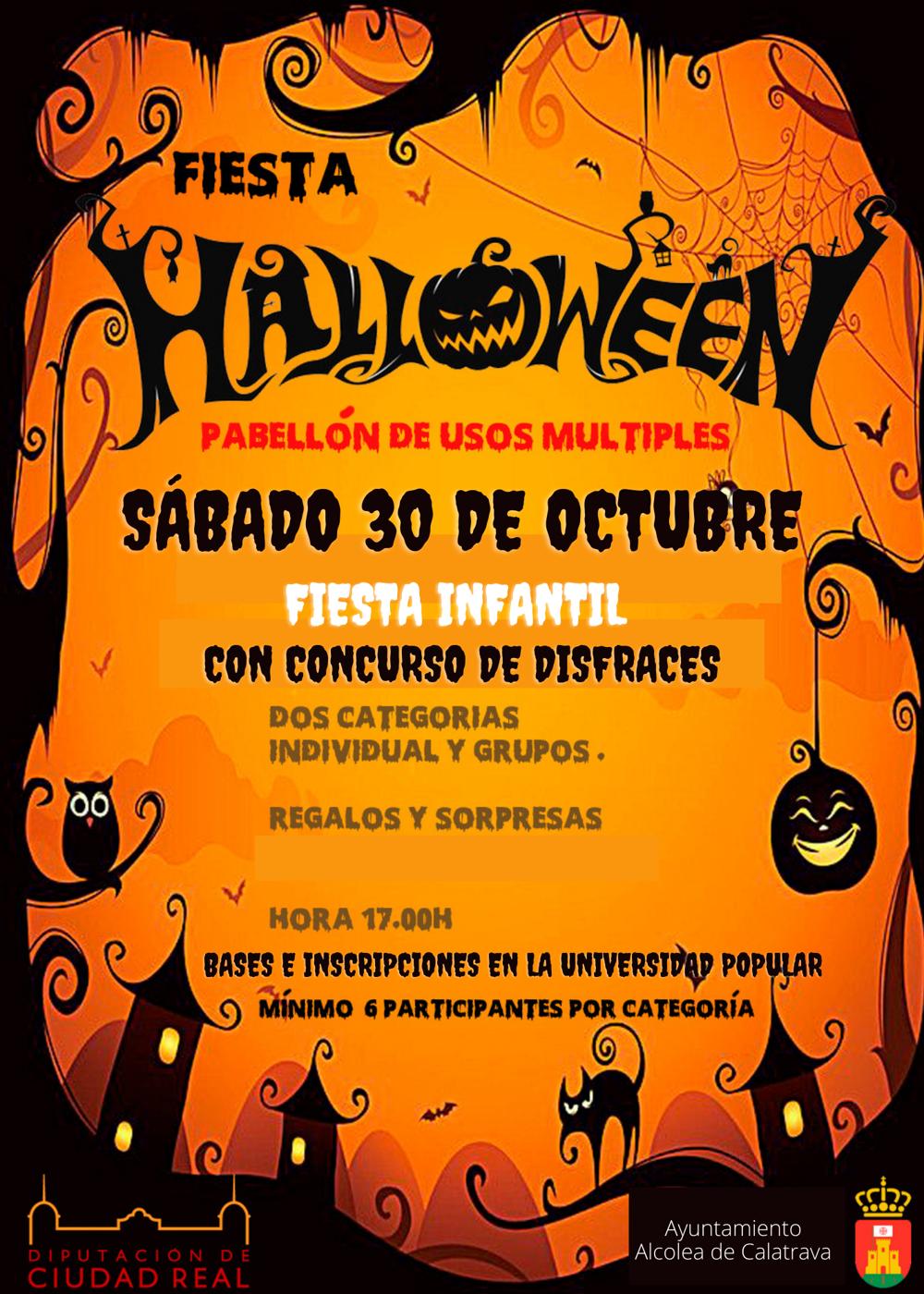 Fiesta Infantil Halloween