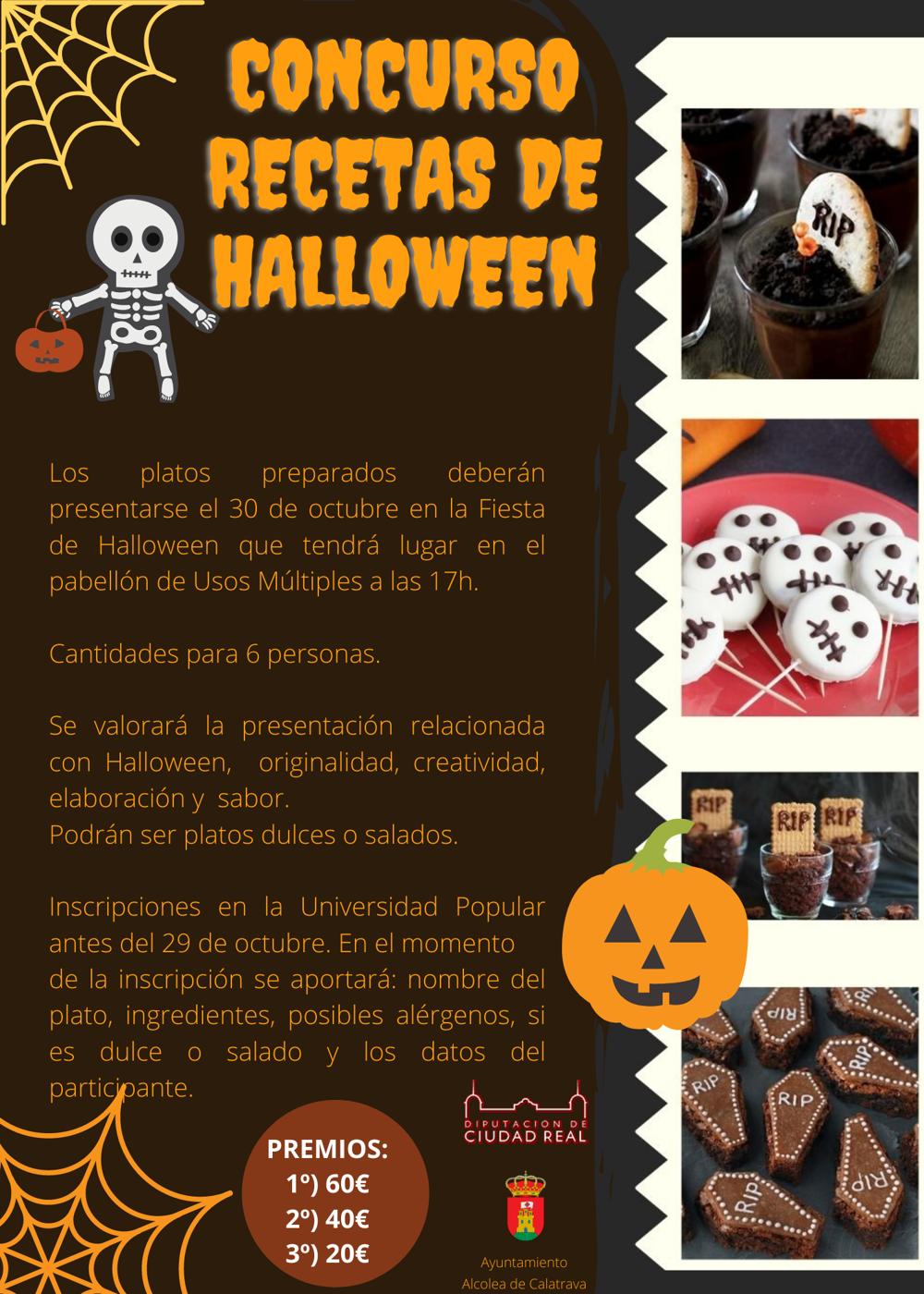 Concurso de Recetas de Halloween